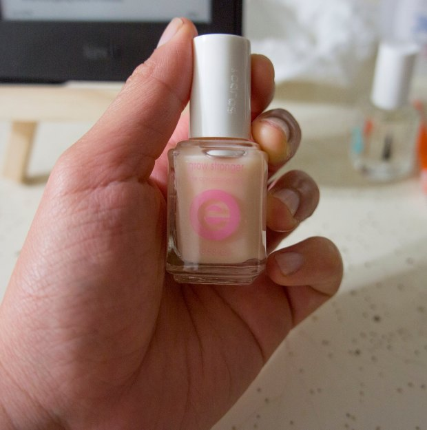 Grow Stronger Base Coat At Home Manicure