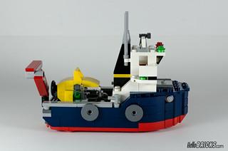 REVIEW LEGO Creator 31045 Ocean Explorer 15