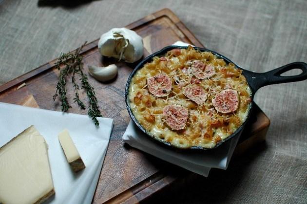 Comte, Pancetta & Fig Mac N Cheese