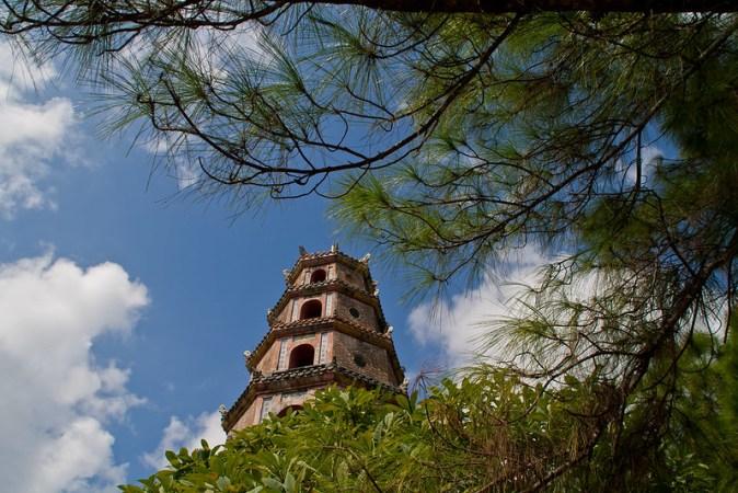 Vietnam Hue Pagode
