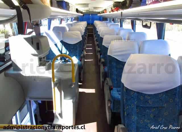 Andesmar Chile - Interior (Aduana Argentina) - Comil Campione DD / Volvo (HSGG45) (13)