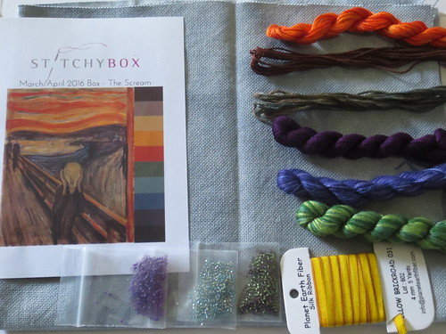 March and April Stitchybox Goodies
