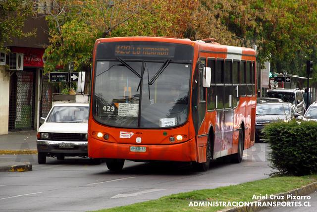 Transantiago - Express de Santiago Uno - Busscar Urbanuss Pluss / Volvo (BFKB15)