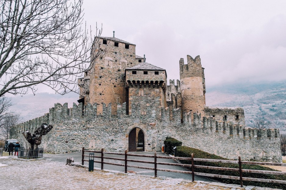 Castello di Fénis (esterno)