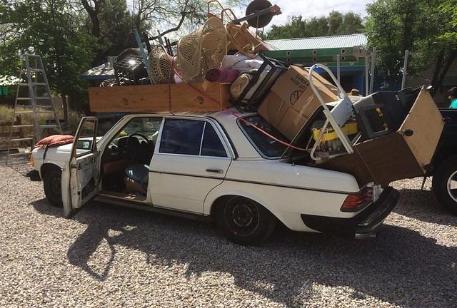 Overstuffed Car