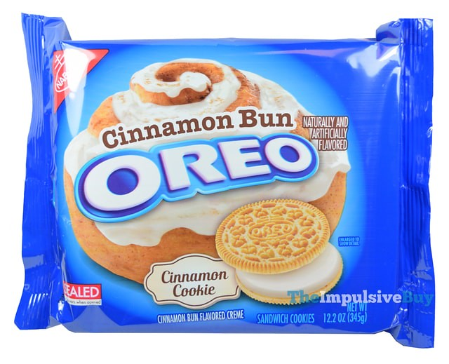 REVIEW Nabisco Cinnamon Bun Oreo Cookies The Impulsive Buy