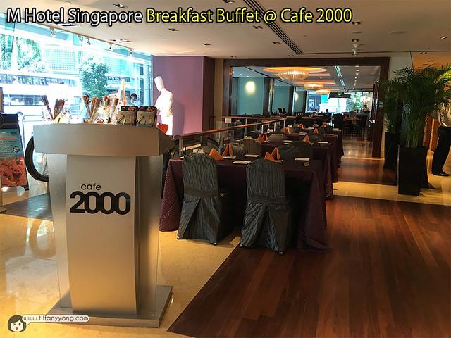 M Hotel Singapore Cafe 2000