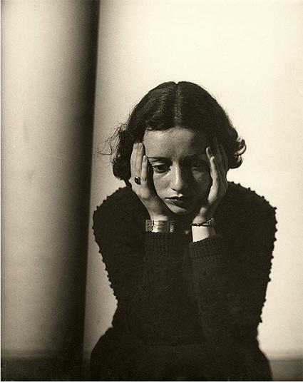 Florence Henri, Portrait de Lore Krüger, Paris, 1937