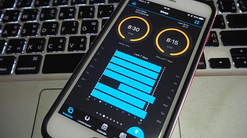 แอป Garmin Connect แสดงสถิติต่างๆ