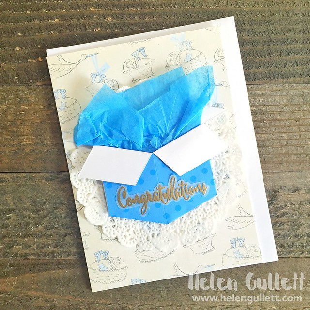 Card for Baby Boy