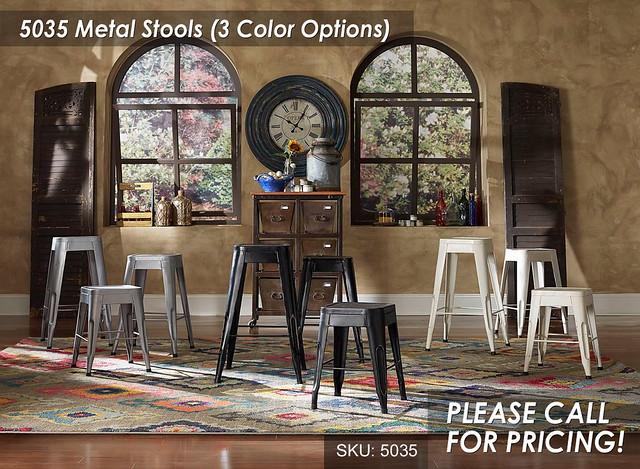 5035 Metal Stools