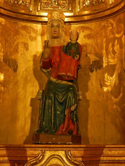 Virgen de la Soterraña Basilica de San Vicente Avila 10