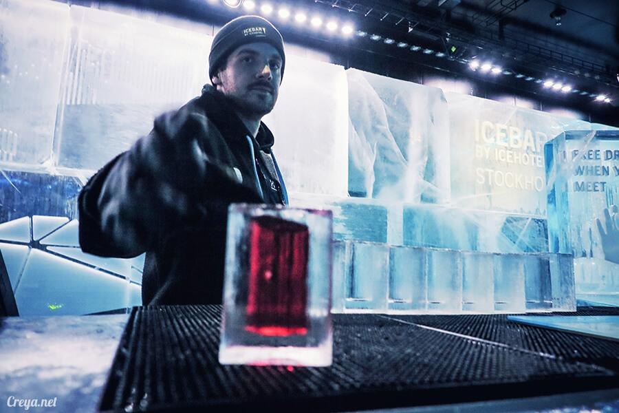 2016.03.24 | 看我歐行腿 | 斯德哥爾摩的 ICEBAR 冰造酒吧,奇妙緣份與萍水相逢的台灣鄉親破冰共飲 16.jpg