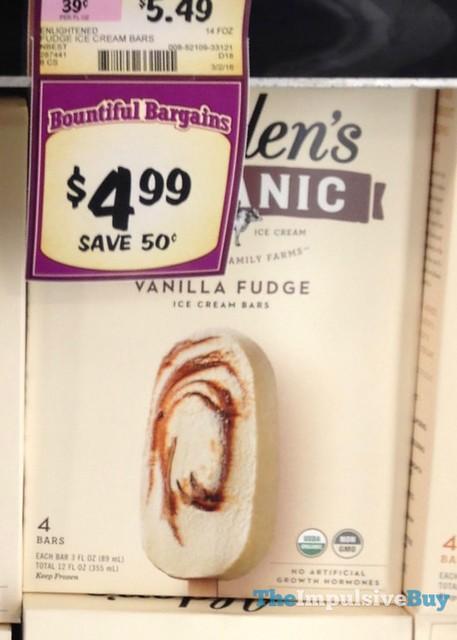Alden's Organic Vanilla Fudge Ice Cream Bars