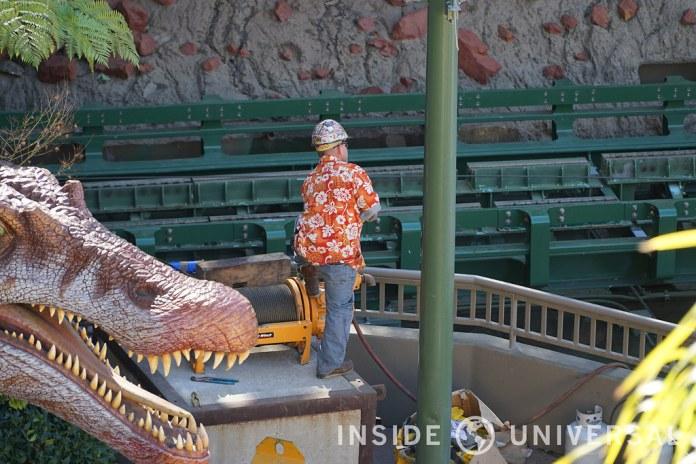 Photo Update: February 6, 2016 - Jurassic Park: The Ride