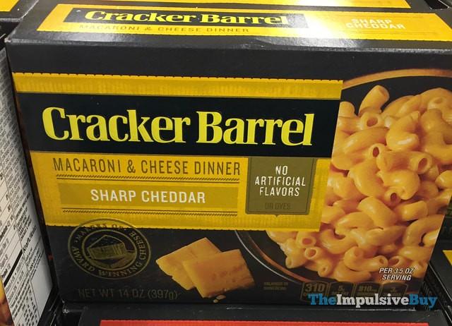 Cracker Barrel Sharp Cheddar Macaroni & Cheese Dinner