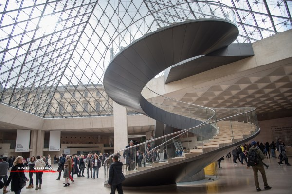 DaVinci Code Louvre Inverted Pyramid