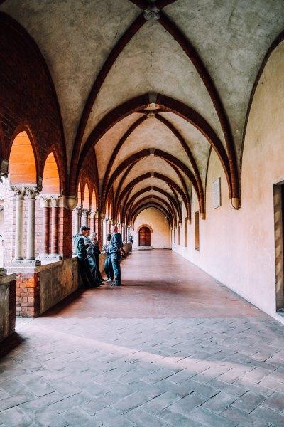 Chiostro dell'Abbazia di Chiaravalle
