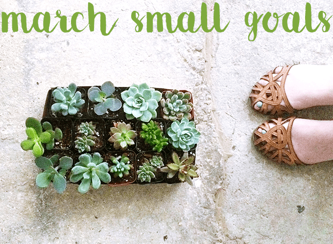 small goals march