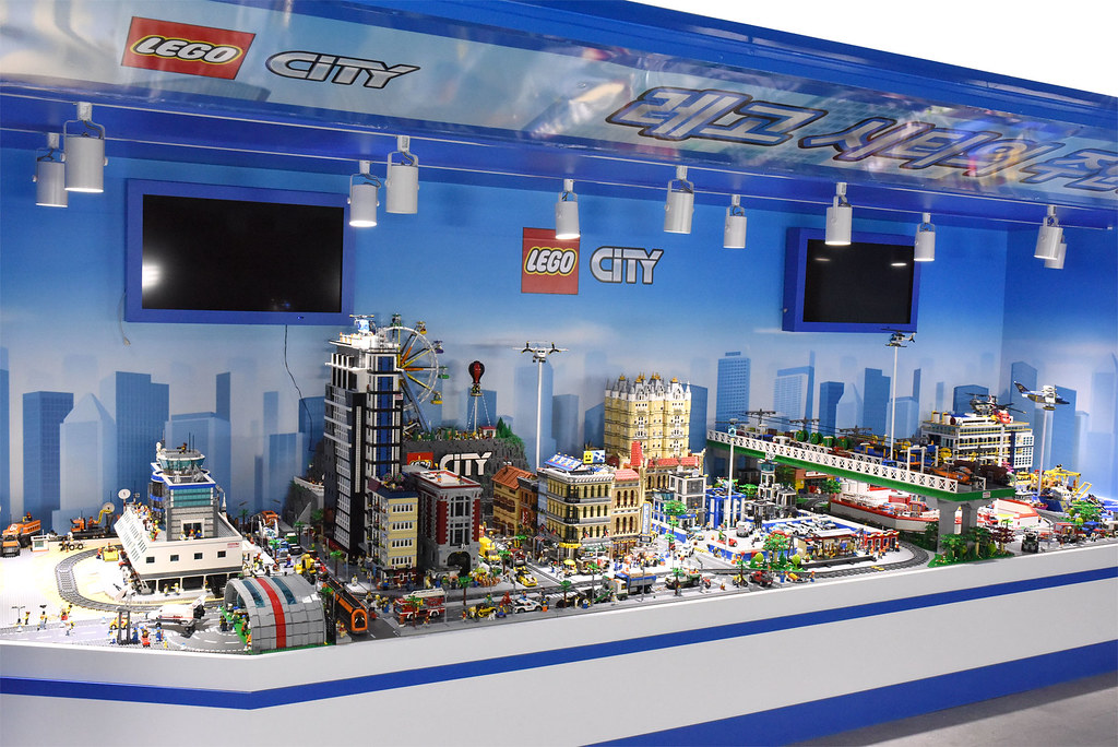 Giant LEGO CITY  Thank you for your attention OliveSeon