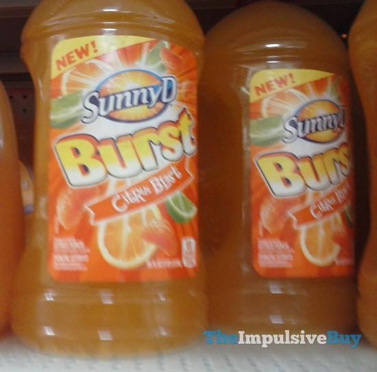 Sunny D Burst Citrus Blast