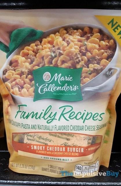 Marie Callender's Family Recipes Smoky Cheddar Burger