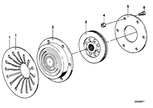 Clutch Parts [Source MAX BMW]