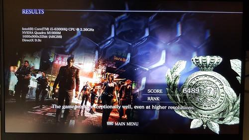 ทดสอบ Benchmark เกม Resident Evil 6 ได้ระดับ S เลย