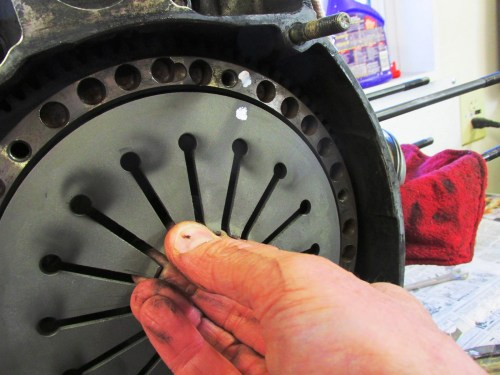 Paint Marks on Flywheel & Diaphragm Spring