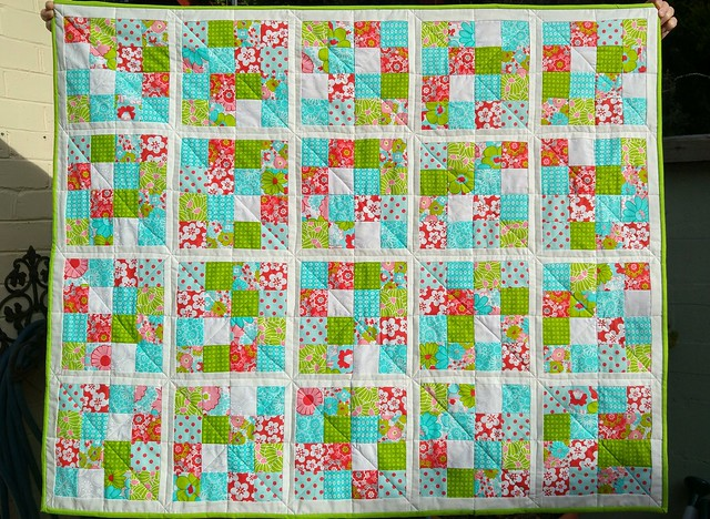A quick jelly roll quilt