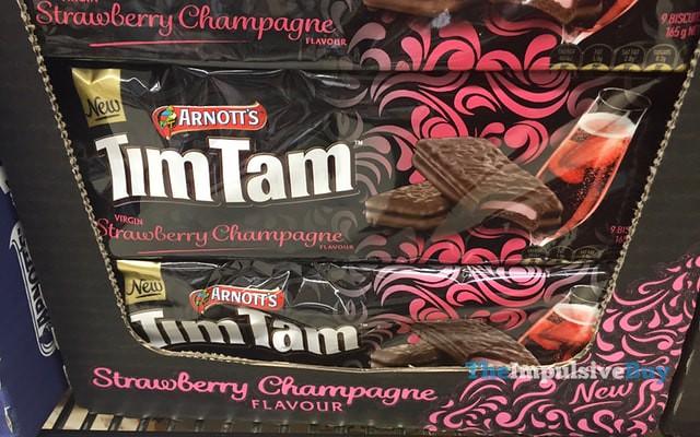 Arnott's Strawberry Champagne Tim Tam