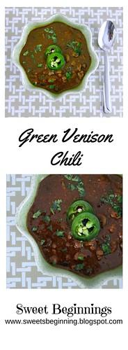 Green Venison Chili Vert