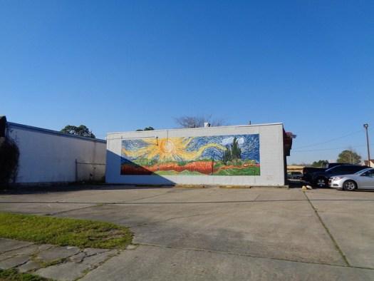 Van Gogh Mural, Baton Rouge LA