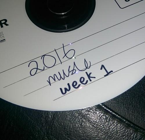 2016 Music CD