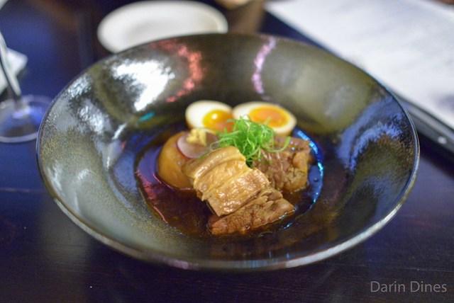 Niman Ranch Pork Belly Kakuni, Half-boiled Free-range Egg & Daikon