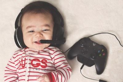 My gamer boy