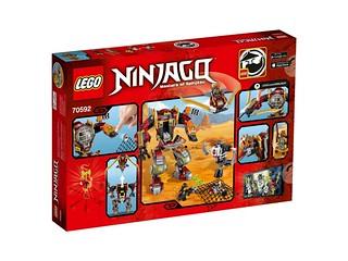 LEGO Ninjago 70592 Salvage M.E.C. back