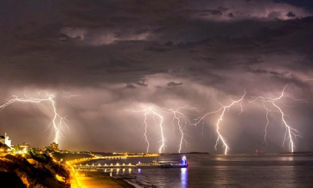 Lightning over Bournemouth