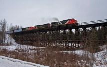 Canada Train Trestle