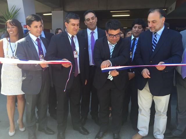 Intendente de O'Higgins, Juan Godoy, y director nacional del Sernageomin, Rodrigo Álvarez Seguel, inauguran Exposur en Rancagua (1)