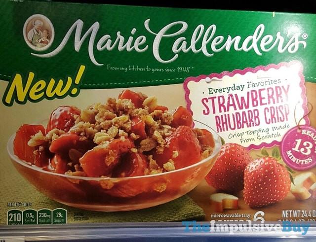 Marie Callender's Strawberry Rhubarb Crisp