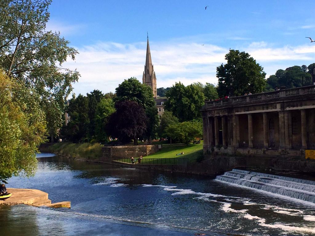 Bath en un día: Pultney Bridge de Bath Bath en un día Bath en un día, el SPA de Roma en Inglaterra 24879938780 4d095265da b