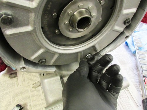 Backing Out Clutch Installation Bolts