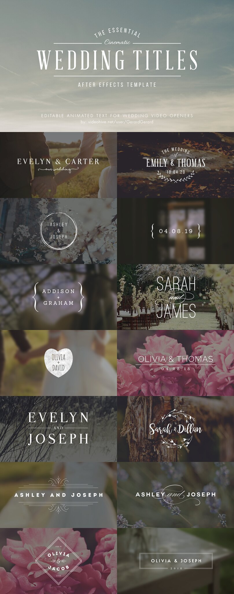 wedding-titles