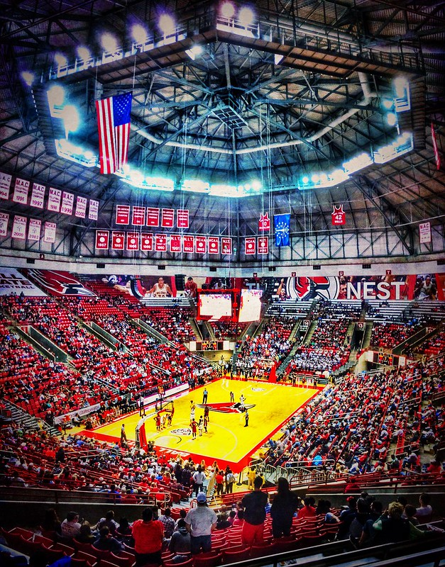 Worthen Arena, Ball State University, Muncie, Indiana