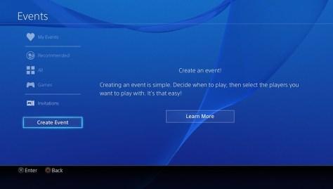 User Scheduled Event 1