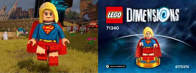 LEGO Dimensions 71340 Supergirl