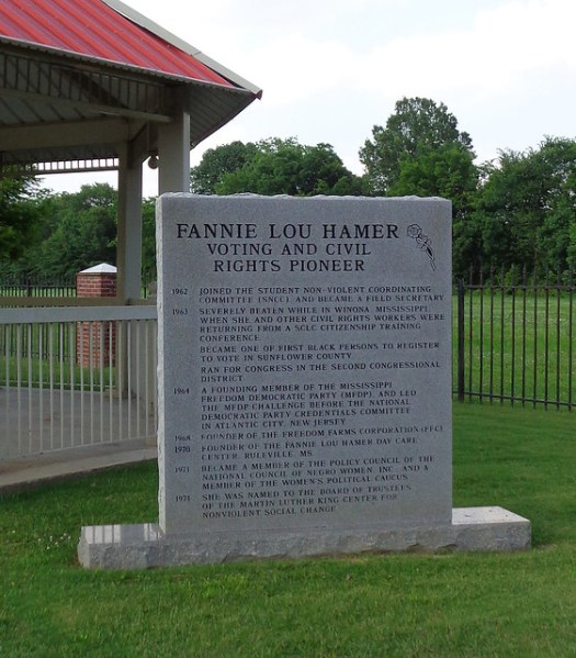 Fannie Lou Hamer Memorial Garden, Ruleville MS