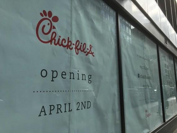 Chick-fil-A Second Manhattan Location