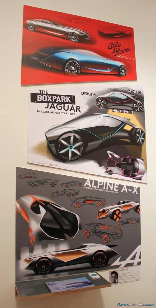 Rca Vehicle Design Works In Progress Show 2016